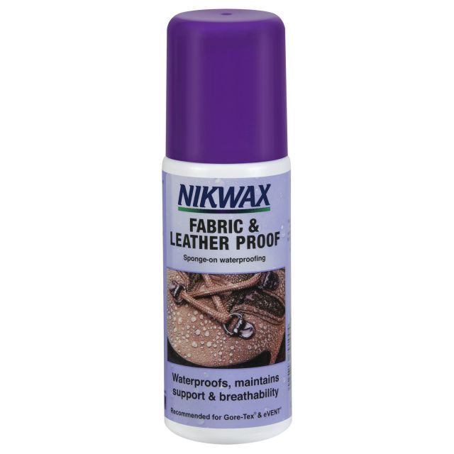 Nikwax Spray On Waterproofer for Fabric & Leather 120ml in Assorted