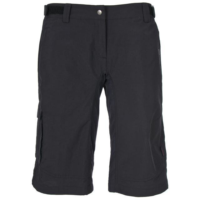 Craving Womens Black Active Shorts in Black