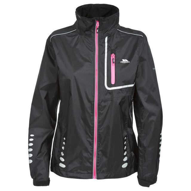 Fairing Women's Breathable Waterproof Jacket in Black