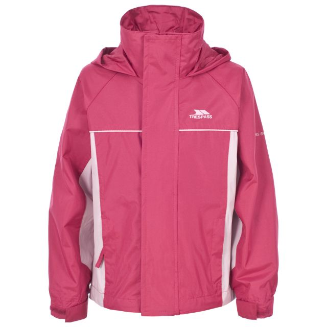 Sooki Girls' Waterproof Jacket in Pink