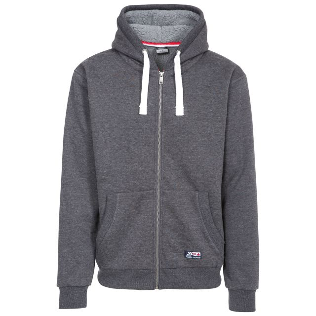 Feldy Men's Fleece Hoodie in Grey