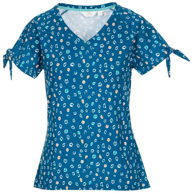 Trespass Womens V-Neck T-Shirt Fernie - CBP, Front view on mannequin