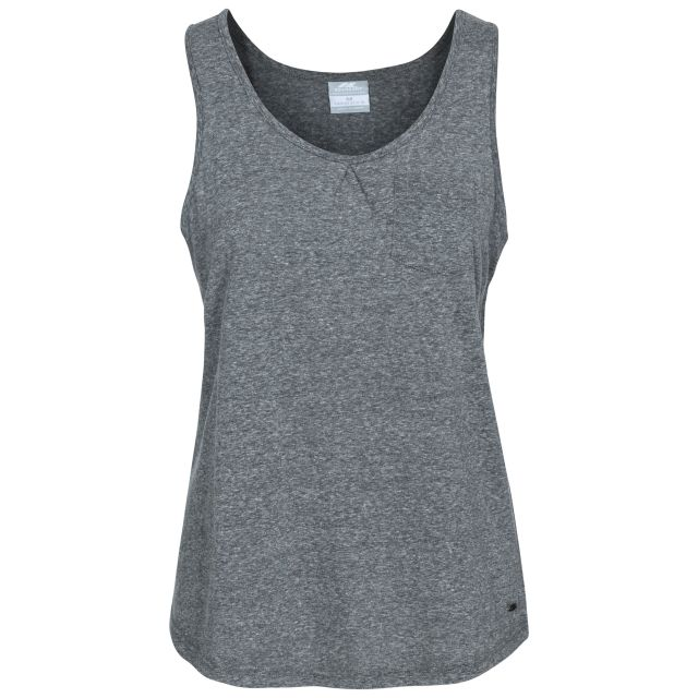 Fidget Women's Sleeveless T-Shirt in Black