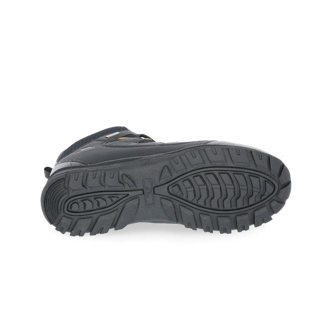Finley Men's Waterproof Walking Boots in Black