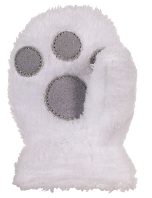 Floppity Babies' Novelty Mittens in White