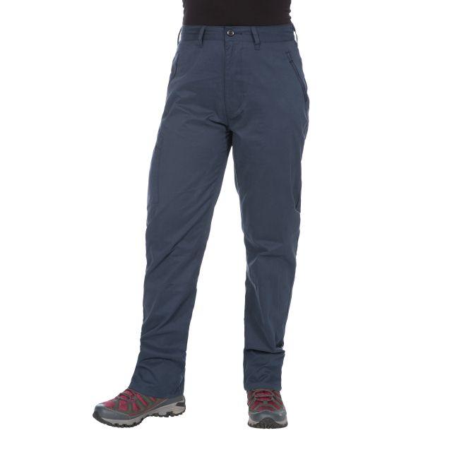 Footfall Women's Cargo Trousers in Navy