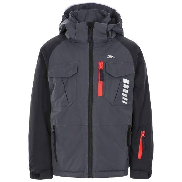 Freebored Kids' Ski Jacket in Grey