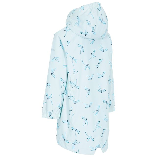 Frejja Kids' Printed Waterproof Jacket in Light Green