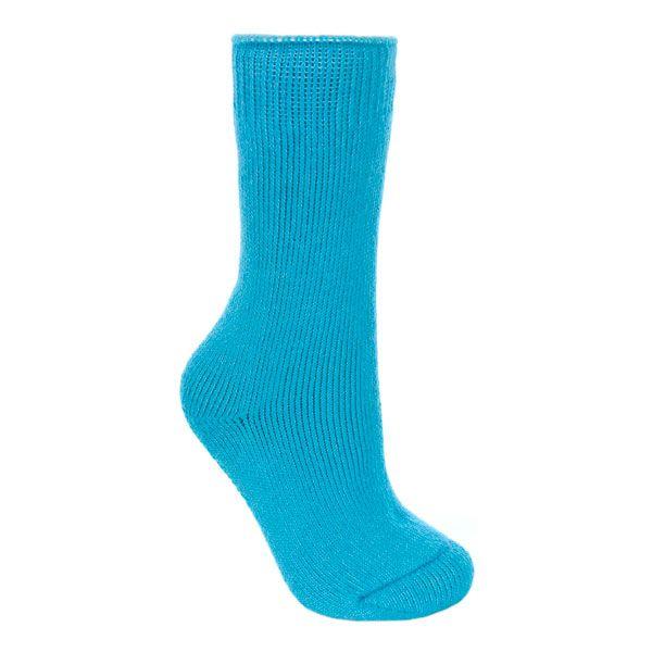 Fuzz Women's Tube Socks in Blue