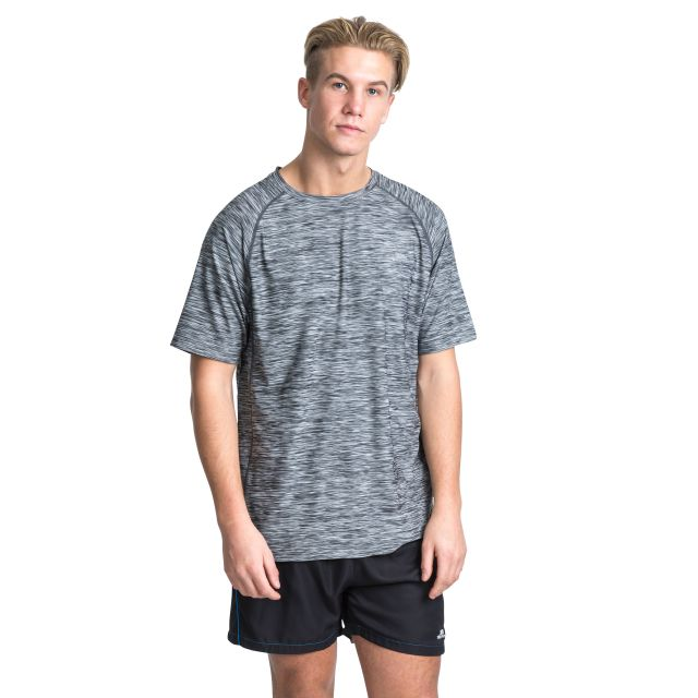 Gaffney Men's Quick Dry Active T-shirt in Grey