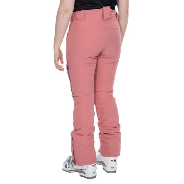 Galaya Women's Waterproof Ski Trousers in Pink