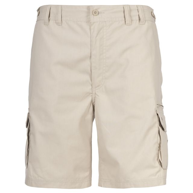 Gally Men's Cargo Shorts in Beige