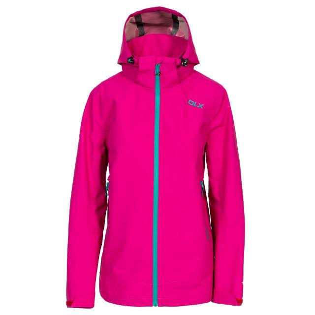 DLX Womens Waterproof Jacket with Hood Gayle in Pink
