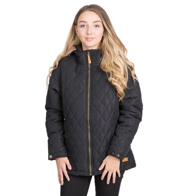 Genevieve Women's Padded Jacket in Black