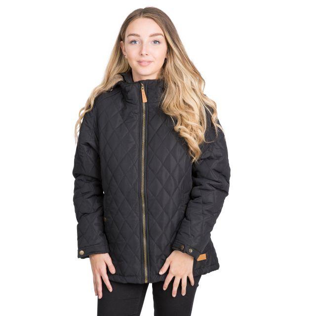 Trespass Womens Padded Jacket Genevieve in Black