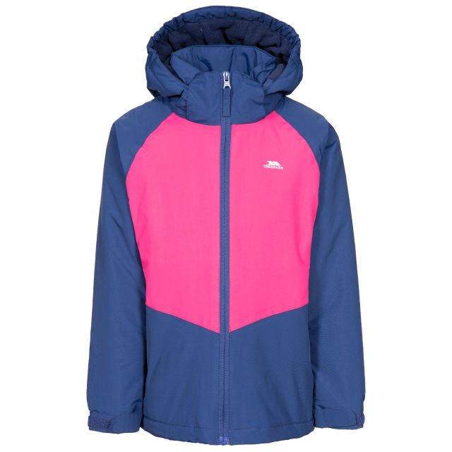 Georgian Kids' Padded Waterproof Jacket in Navy