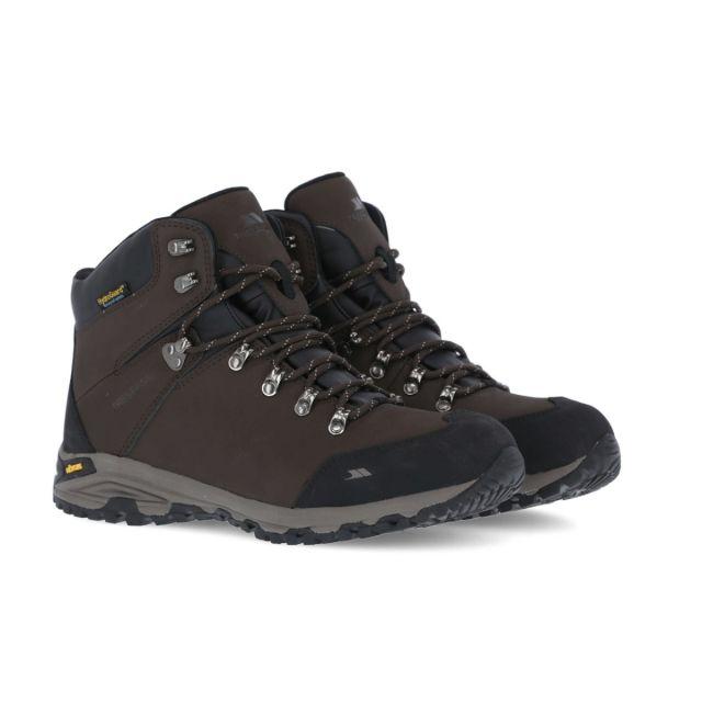 Gerrard Men's Waterproof Vibram Walking Boots in Brown