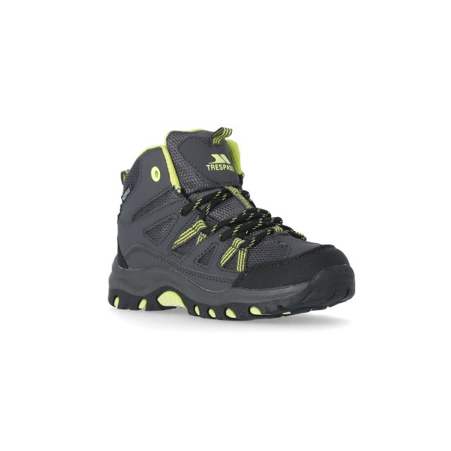 Gillon Kids' Waterproof Walking Boots in Grey