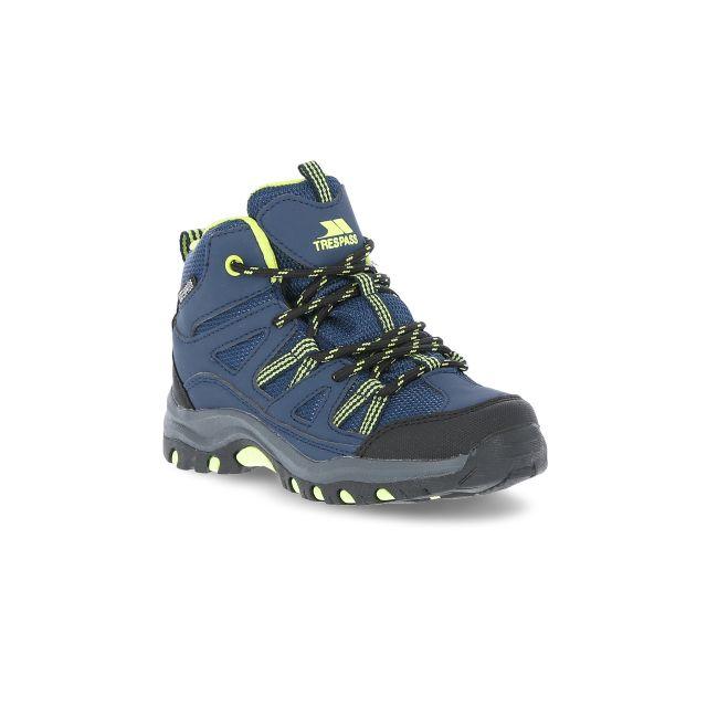 Gillon Kids' Waterproof Walking Boots in Navy