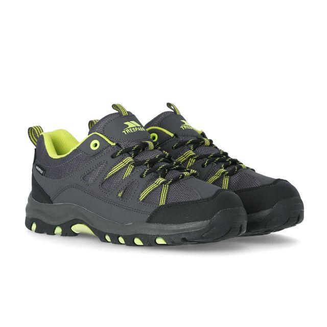 Gillon Kids' Waterproof Walking Shoes in Grey, Pair of footwear