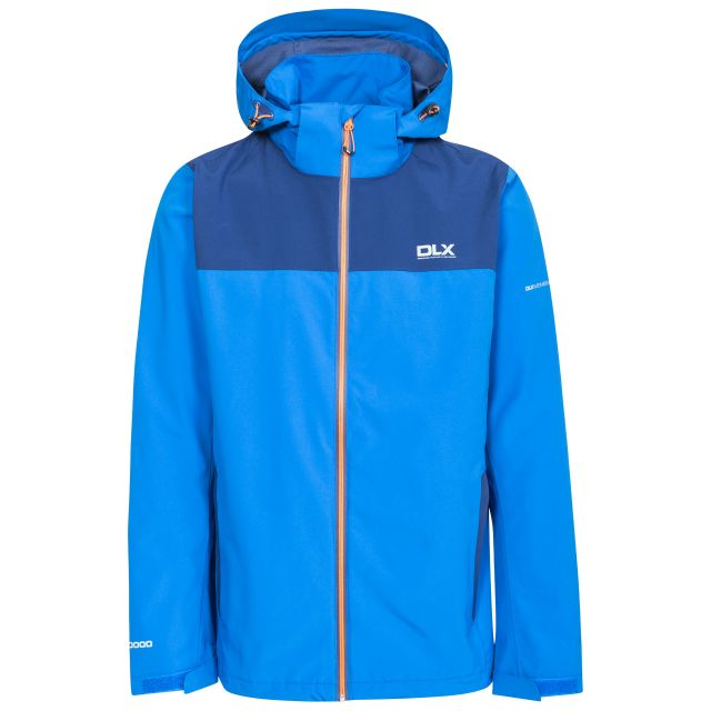 Ginsberg Men's DLX Waterproof Jacket in Blue