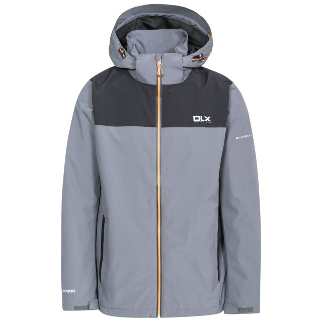 Ginsberg Men's DLX Waterproof Jacket in Grey
