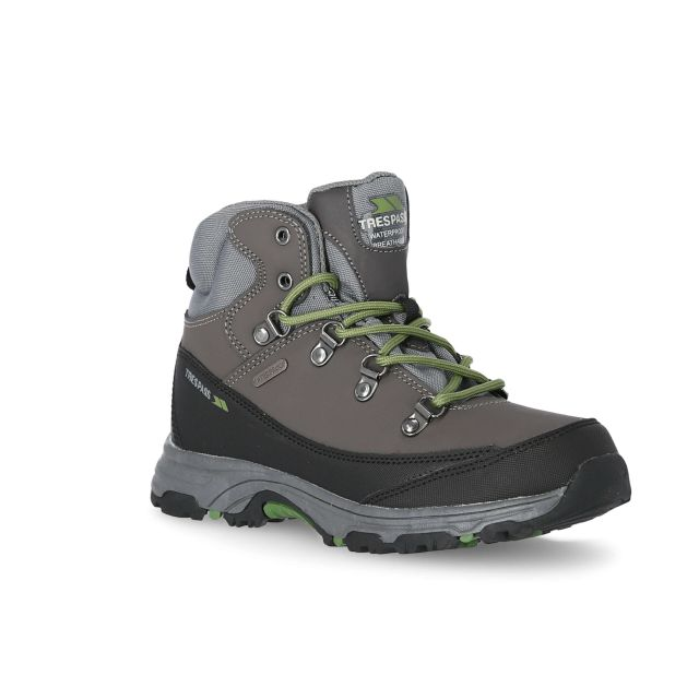 Glebe II Youth Walking Boots in Grey