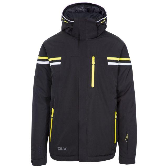 Gonzalez Men's DLX Waterproof RECCO Ski Jacket in Black