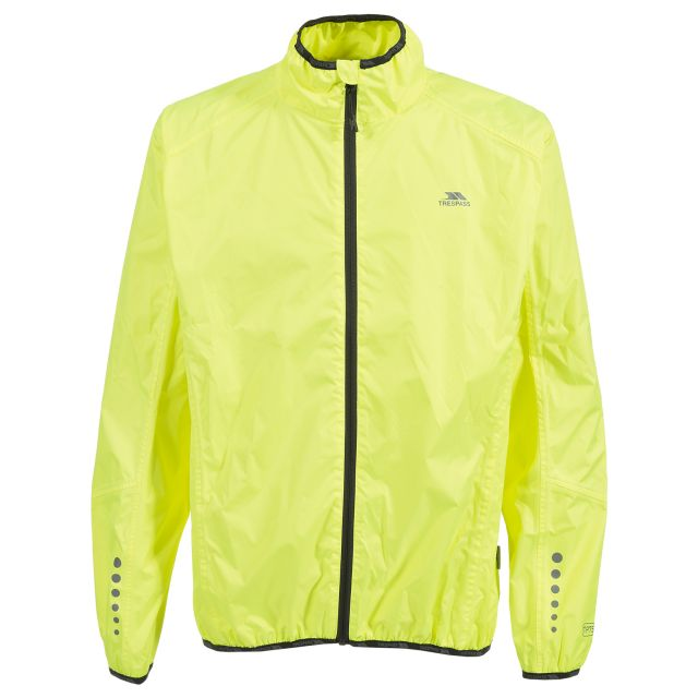 Grafted Men's Waterproof Cycling Jacket in Yellow