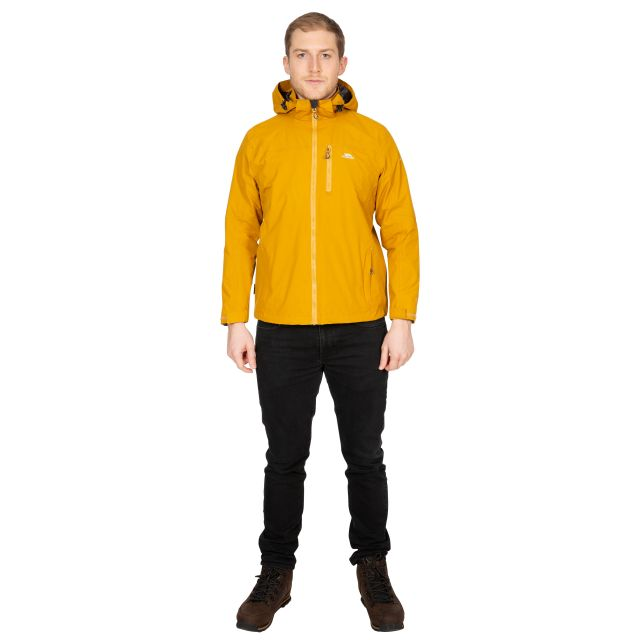 Hamrand Men's Waterproof Jacket in Yellow