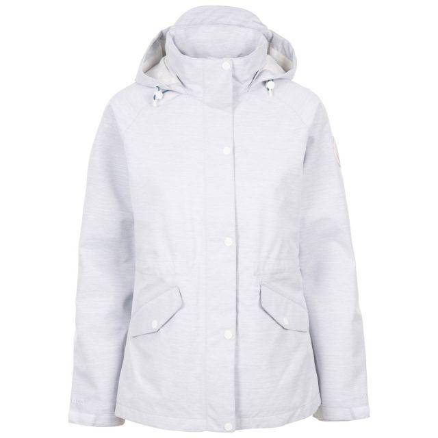 Trespass DLX Women's Waterproof Jacket Hannah Grey