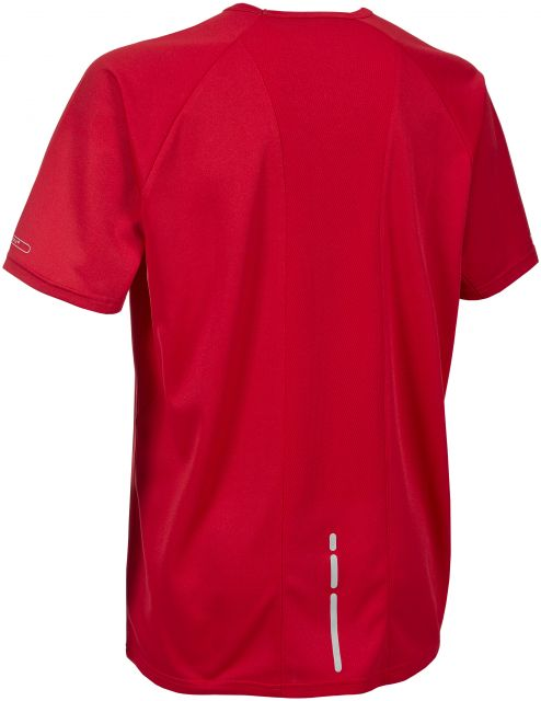 Harland Men's DLX Active Gym T-Shirt in Red