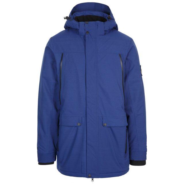 Harris Men's DLX Padded Waterproof Jacket with Sherpa Fleece Lining in Navy