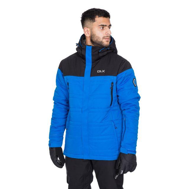 Hayes Men's DLX Waterproof Ski Jacket in Blue