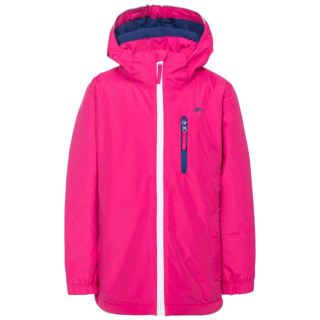 Heddar Kids' Padded Waterproof Jacket in Pink