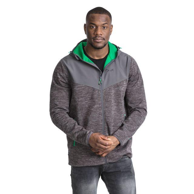Hendricks Men's DLX Softshell Active Jacket in Grey