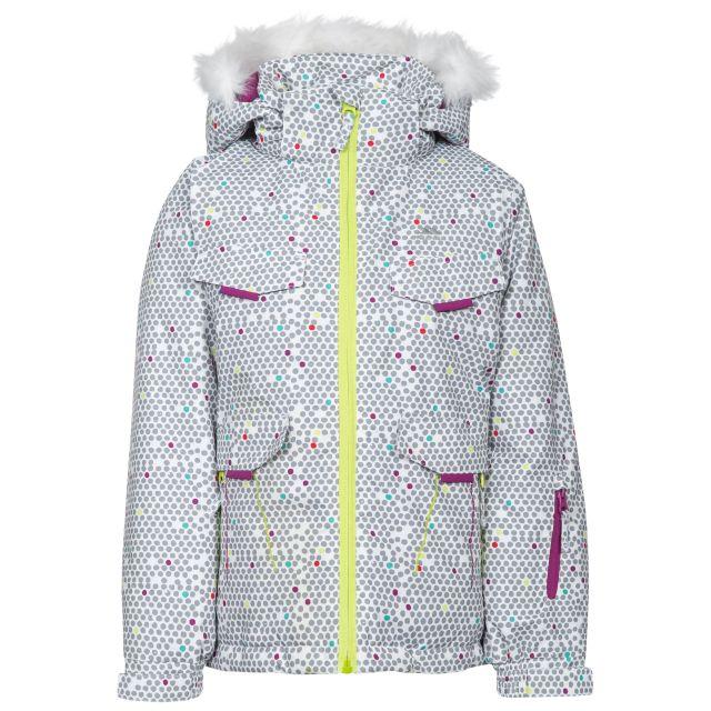 Hickory Kids' Printed Ski Jacket in White