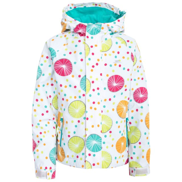 Hopeful Girls' Waterproof Jacket  in Pink