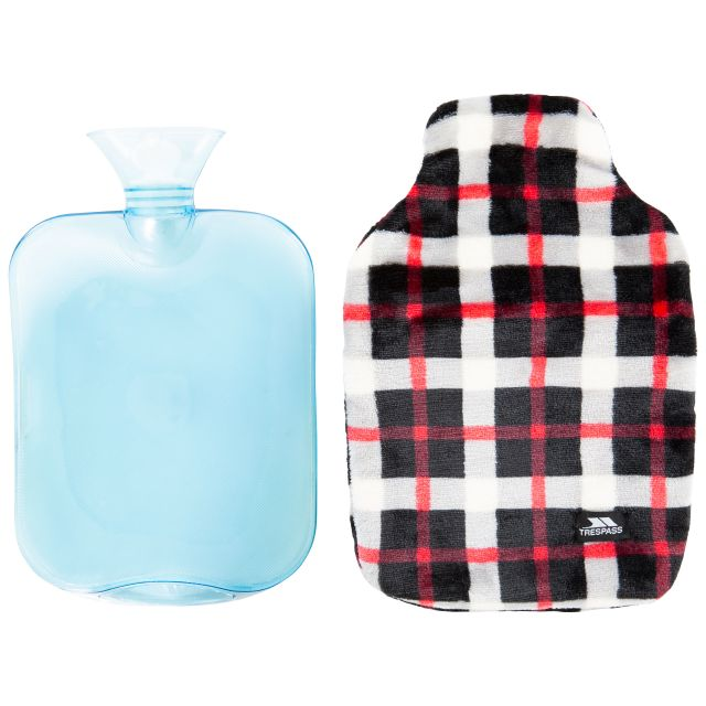 Hugme Hot Water Bottle with Cover in Red