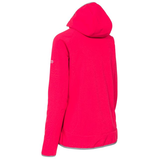 Trespass Womens Softshell Jacket Windproof Breathable Imani in Pink