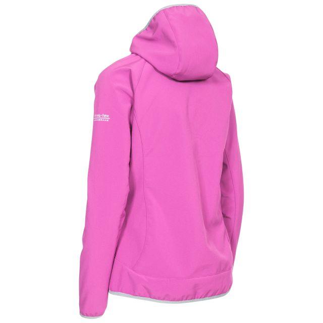 Trespass Womens Softshell Jacket Windproof Breathable Imani in Purple