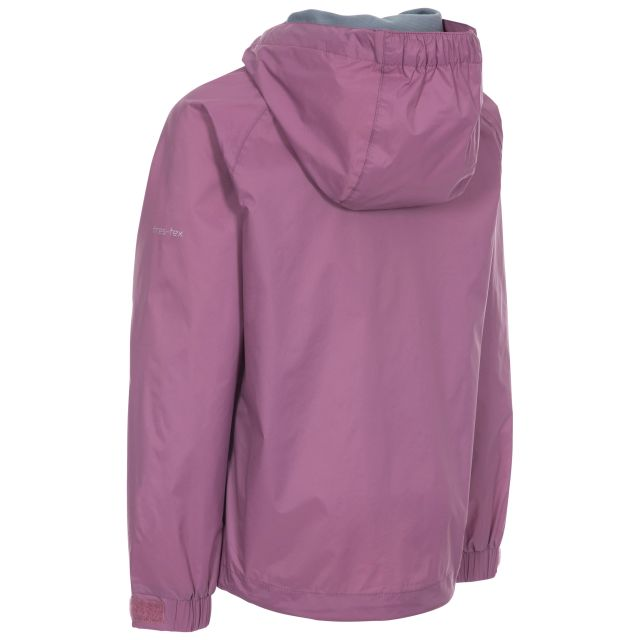 Impressed Kids' Waterproof Jacket in Purple