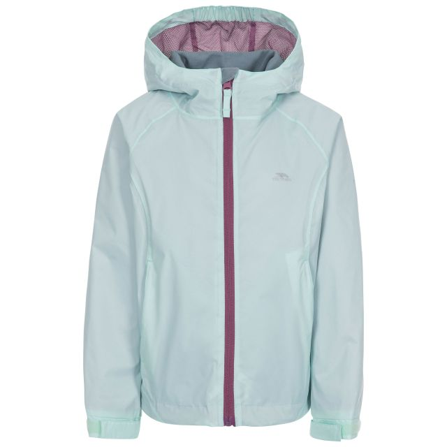 Impressed Kids' Waterproof Jacket in Light Green