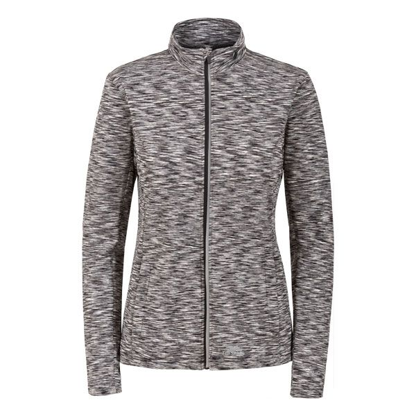 Indira Women's Long Sleeve Active Jacket in Light Grey