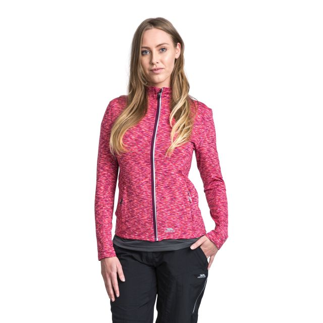 Indira Women's Long Sleeve Active Jacket in Purple