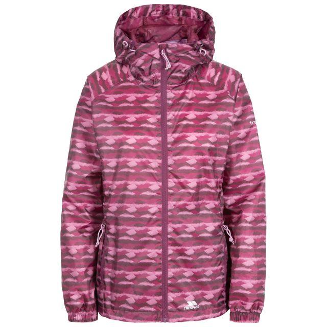 Indulge Women's Waterproof Packaway Jacket in Purple