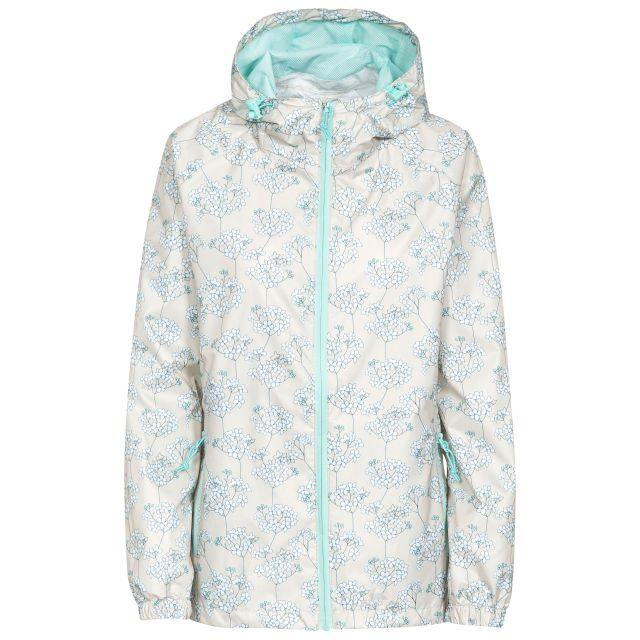 Indulge Women's Waterproof Packaway Jacket in White