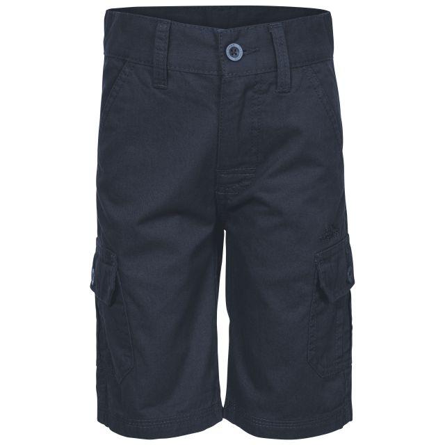 Jarra Kids' Cotton Cargo Shorts in Navy
