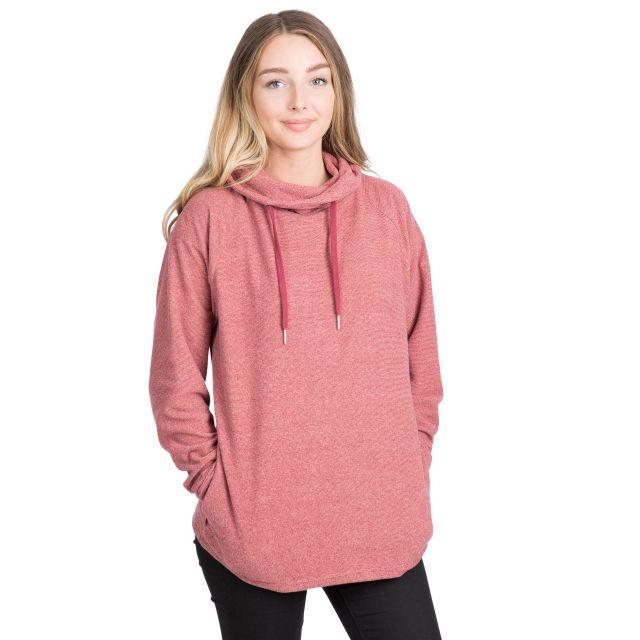 Jeannie Women's Fleece Hoodie in Pink
