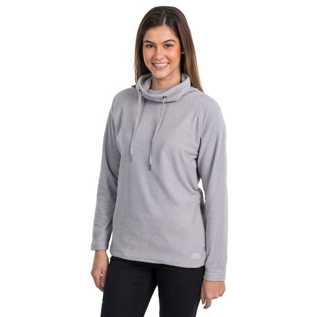 Jeannie Women's Fleece Hoodie in Grey